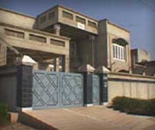 The house in Faisalabad where Abu Zubaida will be arrested.