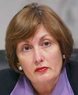 9/11 Commissioner Jamie Gorelick is attacked for her role in extending the 'wall'.