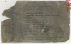 A business card of Assem Jarrah, Ziad&#8217;s cousin.