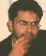 Sheikh Sheikh photographed while in secret custody in February 2002.