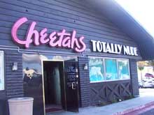 Cheetah&#8217;s nude bar in San Diego.