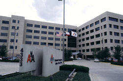 American Airlines&#8217; headquarters.