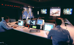 American Airlines' System Operations Command Center.