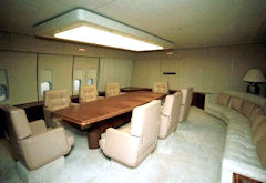 The conference room on Air Force One.