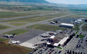 Gallatin Field Airport in Bozeman, Montana.
