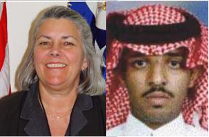 Elizabeth Colton (left) may have issued Satam al Suqami's US visa.