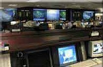 The Delta Air Lines operations control center in Atlanta, Georgia.
