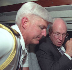 Douglas Cochrane with Dick Cheney.