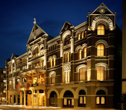 The Driskill Hotel in Austin, Texas.