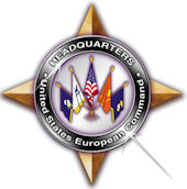 Logo of the United States European Command.