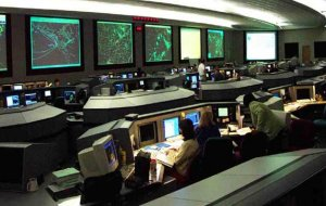The FAA Command Center in Herndon, Virginia.