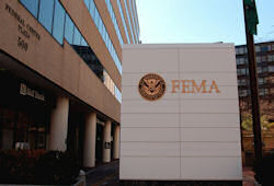 FEMA headquarters in Washington, DC.