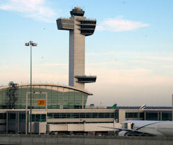 JFK International Airport.