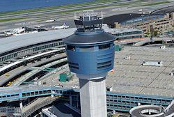La Guardia Airport.