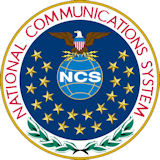 Logo of the National Communications System.