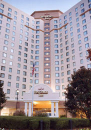 The Marriott Residence Inn in Arlington, Virginia.