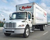 A Ryder truck.