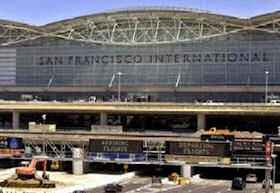 San Francisco International Airport.