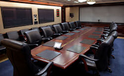 The White House Situation Room.