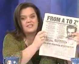 Rosie O&#8217;Donnell.