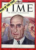 Time Magazine&#8217;s Man of the Year cover for 1951.