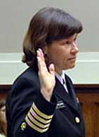 Dr. Susan Molchan testifies before Congress.