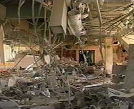 Damage from one of the Sharm el-Sheikh bombs.