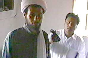 The Blind Sheikh's sons Mohammad Omar Abdul-Rahman and Ahmad Abdul-Rahman in 1998. It is not clear which is which.