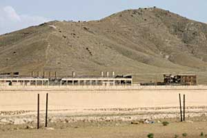The &#8220;Salt Pit&#8221; prison near Kabul, Afghanistan.