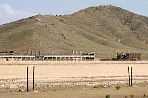 "The ""Salt Pit"" prison near Kabul, Afghanistan."