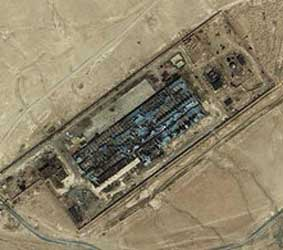 The Salt Pit, a secret CIA prison near Kabul, Afghanistan.