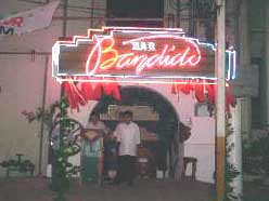 Bandido's bar in Manila. This may be the restaurant frequented by KSM.