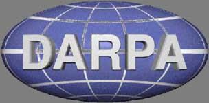 DARPA logo.