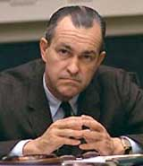 Former CIA director Richard Helms.