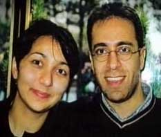 Ziad Jarrah amd Aisel Senguen holidaying in Paris in the fall of 2000.