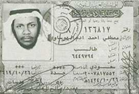 Documentation used by Mustafa Ahmed al-Hawsawi in the United Arab Emirates.