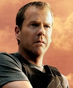 Actor Kiefer Sutherland as &#8216;Jack Bauer.&#8217;
