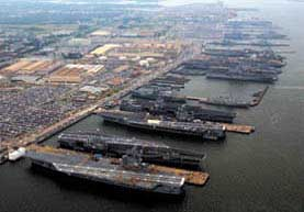 Naval Station Norfolk.