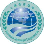 The Shanghai Cooperation Organization logo. 
