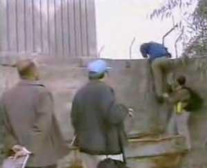 UN inspectors at Djerf al Nadaf.