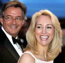 Joseph Wilson and Valerie Plame Wilson.