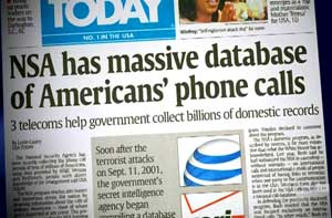 USA Today headline.