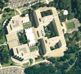 CIA headquarters in Langley, Virginia.