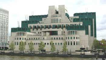 MI6 headquarters in London.