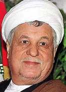 Akbar Hashemi Rafsanjani.