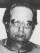 An ailing Agha Hasan Abedi in 1991.