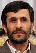 Mahmoud Ahmadinejad.