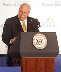 Vice President Cheney linked the NSA's warrantless surveillance program to the case of 9/11 hijackers Khalid Almihdhar and Nawaf Alhazmi.