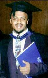 Zacarias Moussaoui obtained a master's degree in international business from South Bank University in London in the mid-1990s.