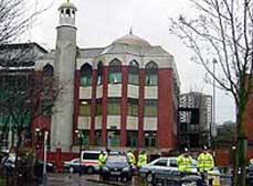 Raid on Finsbury Park Mosque.